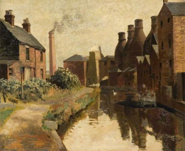 Harper, W. K.; Wood's Pottery, Longport; Brampton Museum; http://www.artuk.org/artworks/woods-pottery-longport-18502
